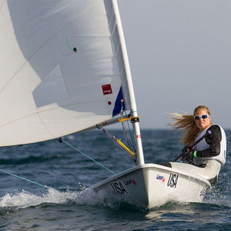 Haddon Hughes '11 captured the national championship in the Intercollegiate Sailing Association's Women's Singlehanded event in November 2015. She attends Georgetown University.