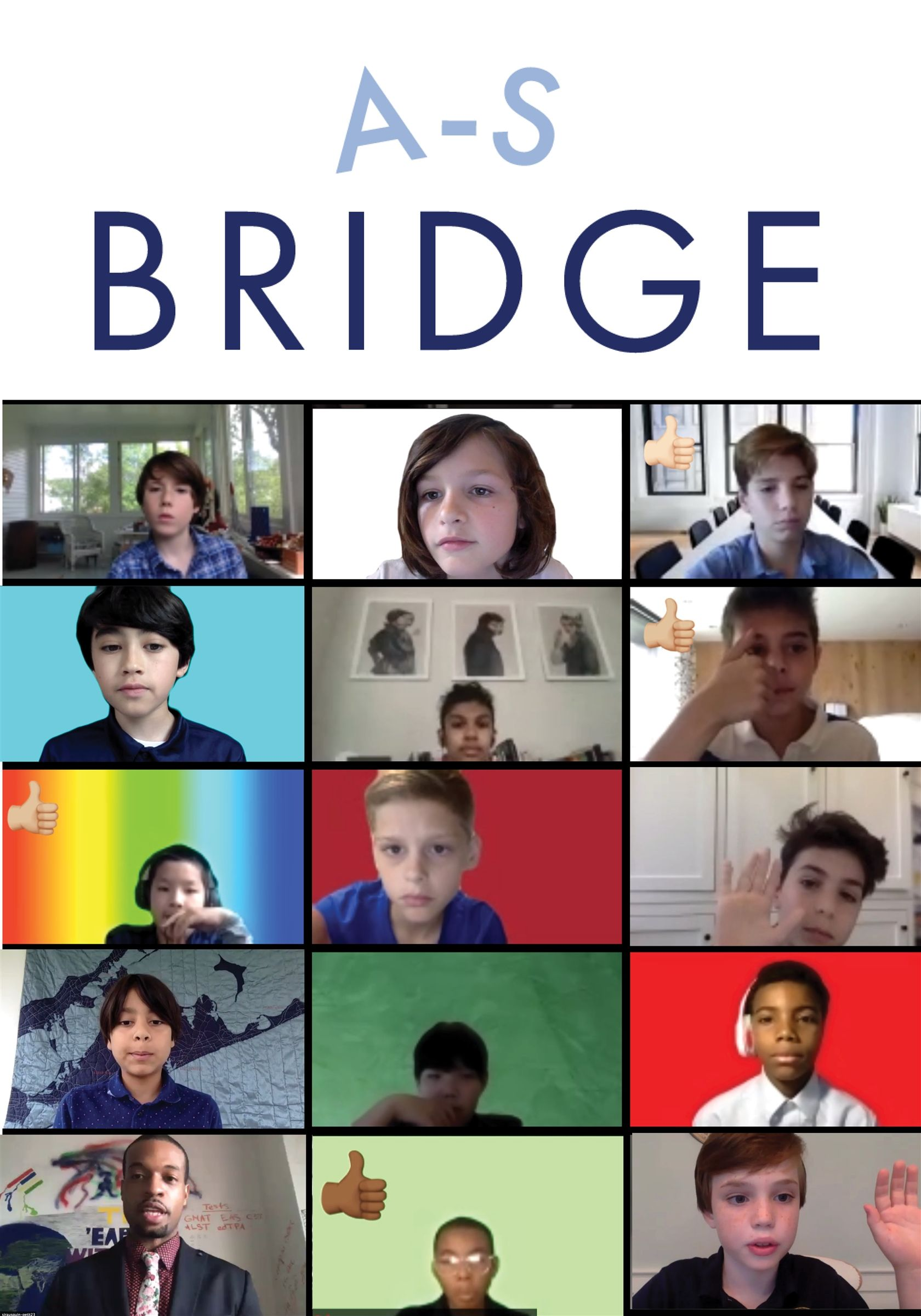The COVID-19 global pandemic hits and Allen-Stevenson devises its A-S Bridge remote learning plan to bridge learning between school and home.