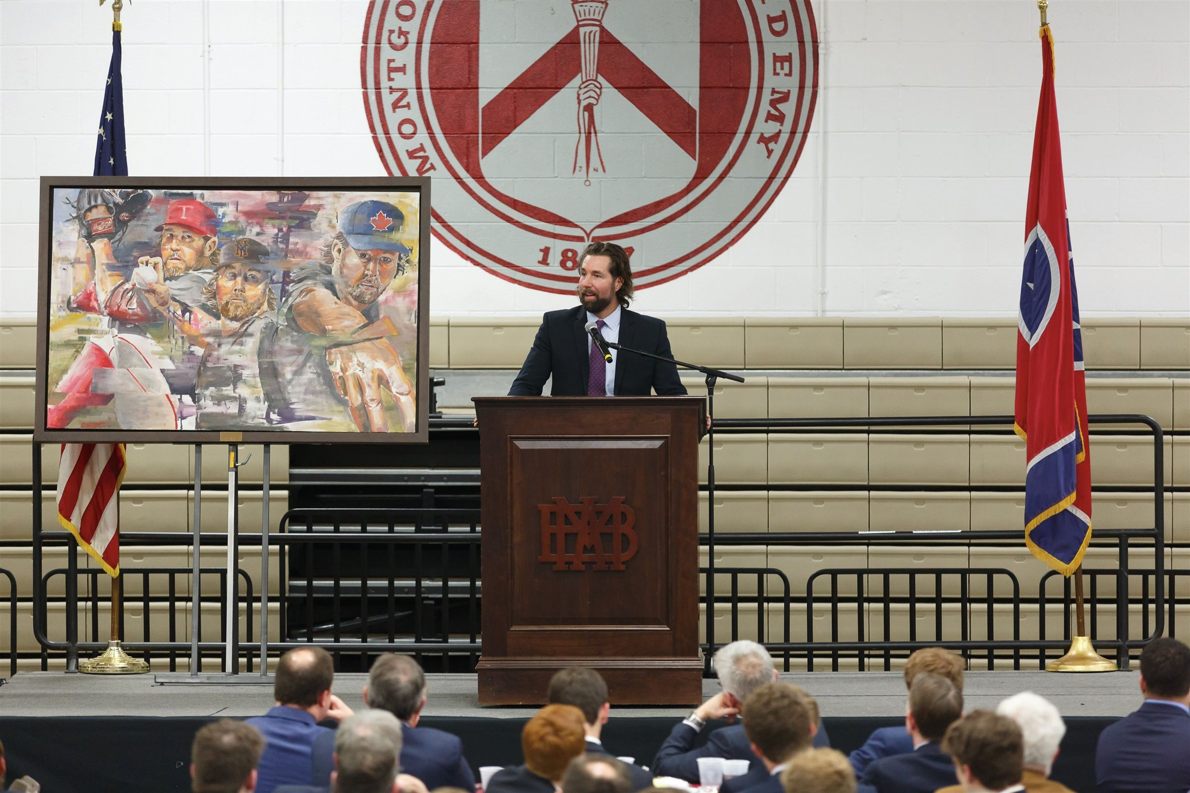 CY Young Award Winner R.A. Dickey ('93), keynote speaker