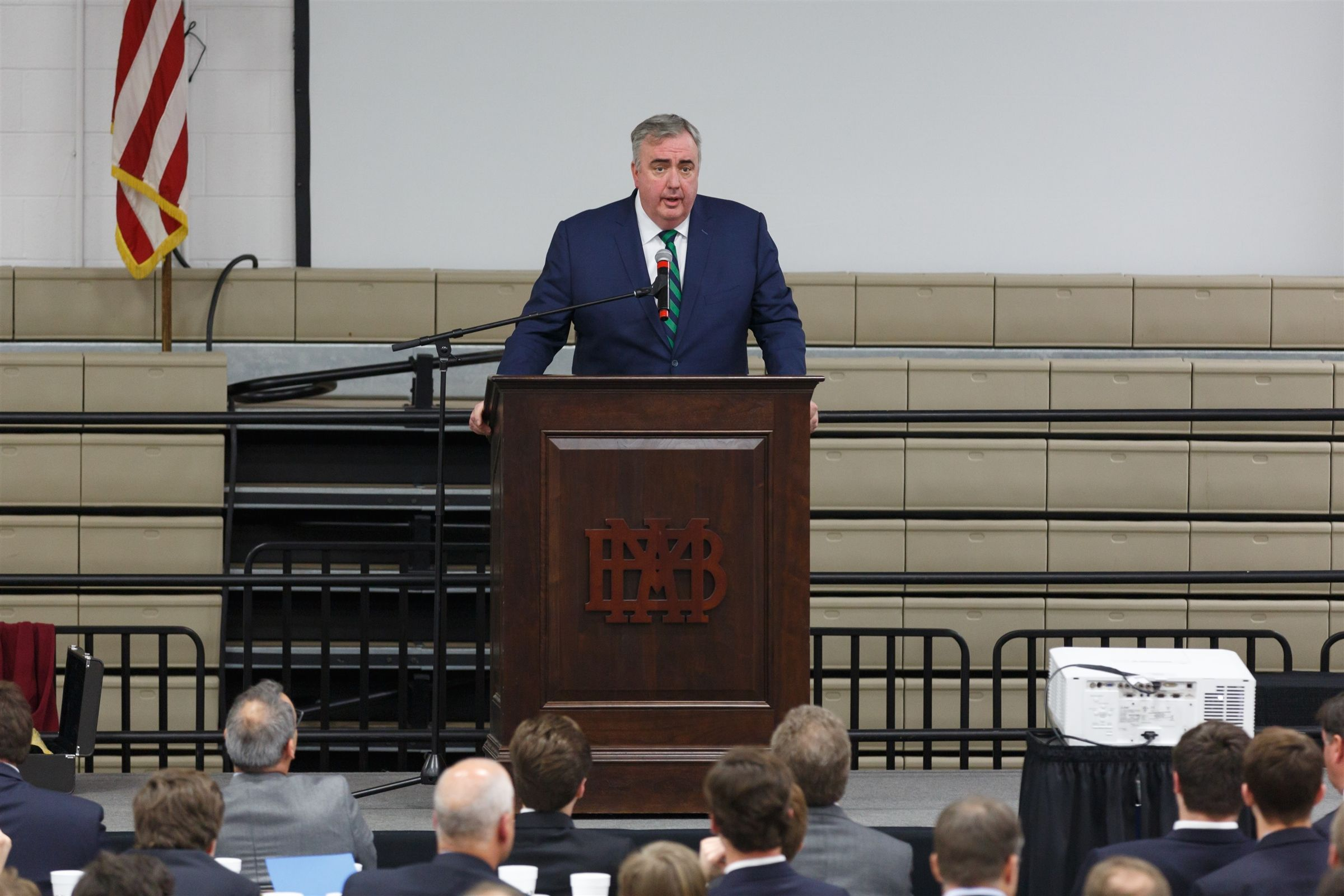 Boston Police Commissioner Ed Davis, keynote speaker