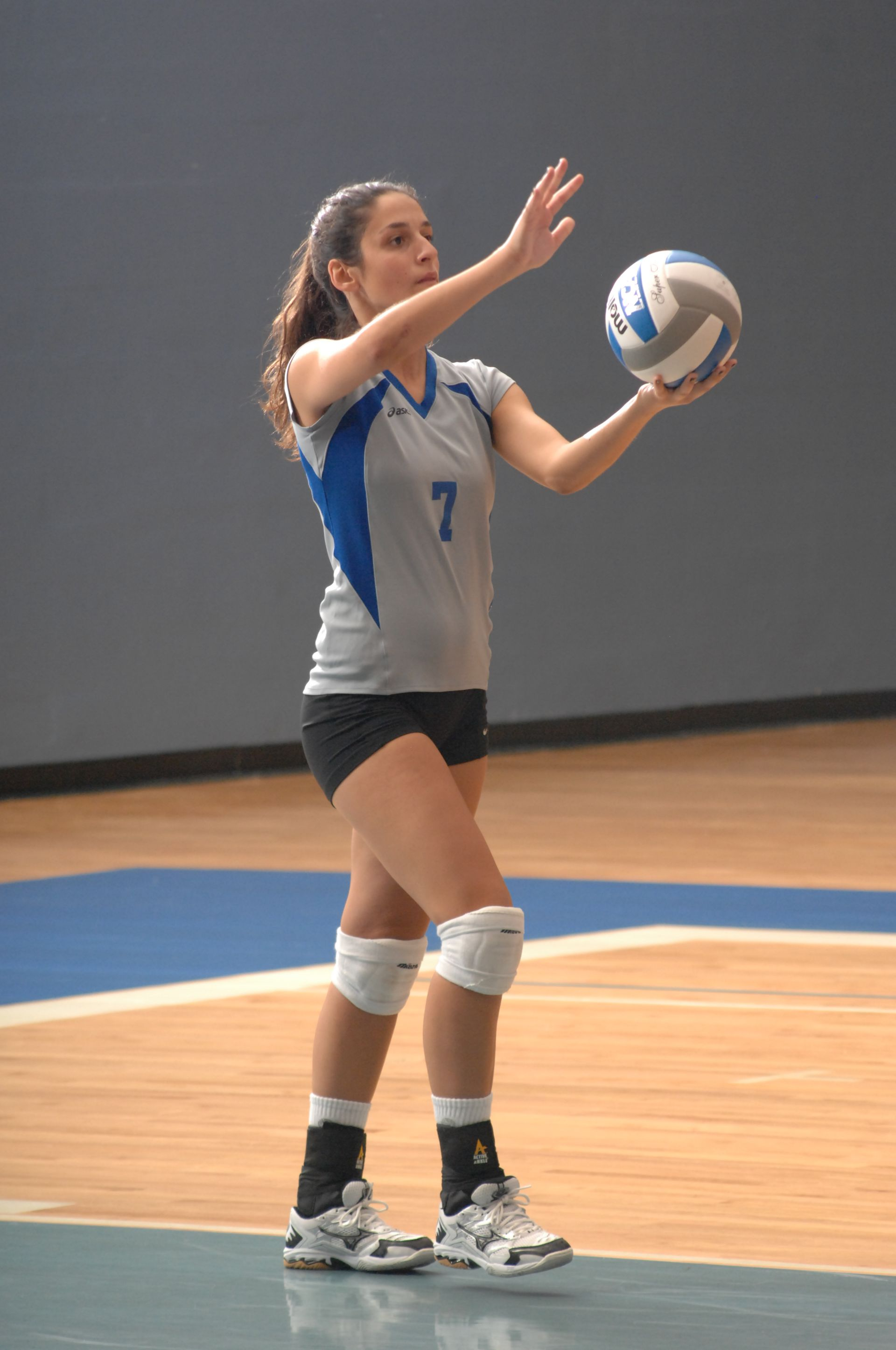 Emily Varni '09 - Colby Volleyball
