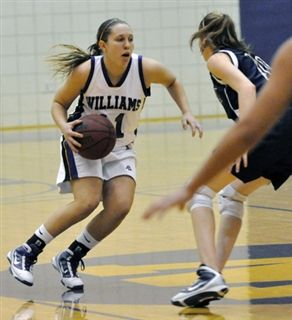 Jen Borderud '09 - Williams Basketball