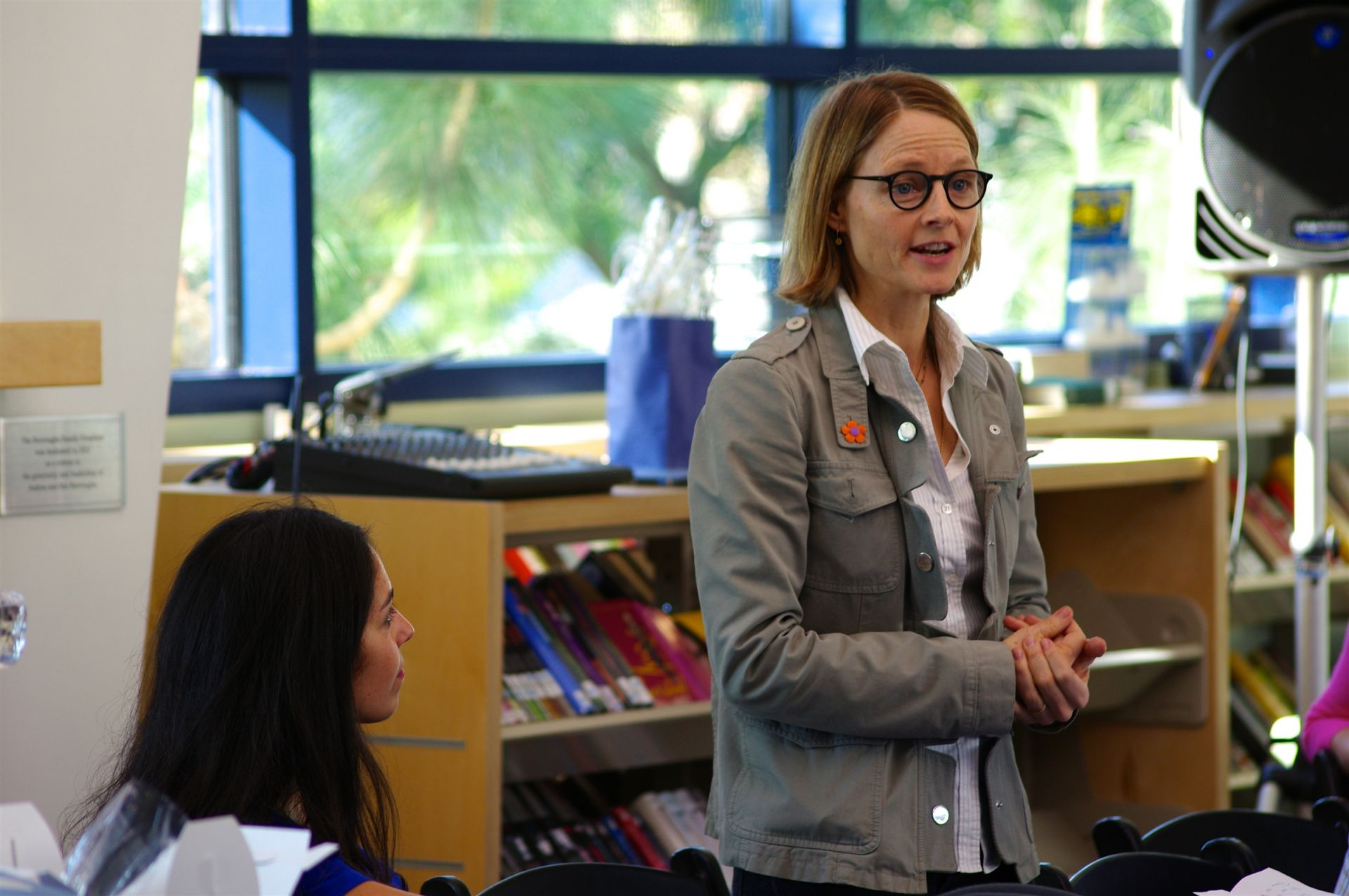 Jodie Foster Speaks at Windward's Lunch & Learn Series