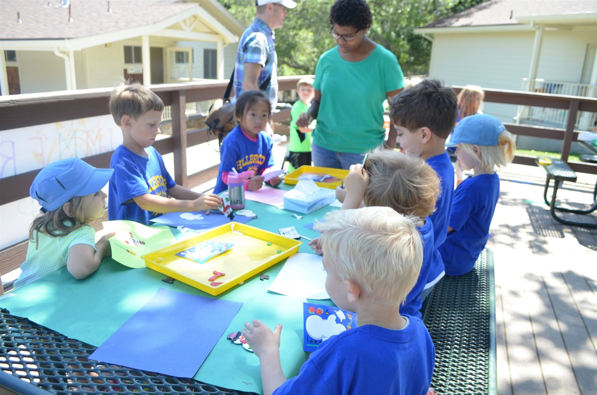 Holiday Camp (K-1st) explores a different holiday each day of the week!