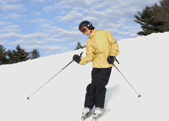 The Easton Ski Area has many trails, a half pipe, and two ski jumps. The trails range from beginner to expert and are used for recreational and competitive skiers and snowboarders. All trails are served by Macomber Chair Lift, snow making, and daily grooming.