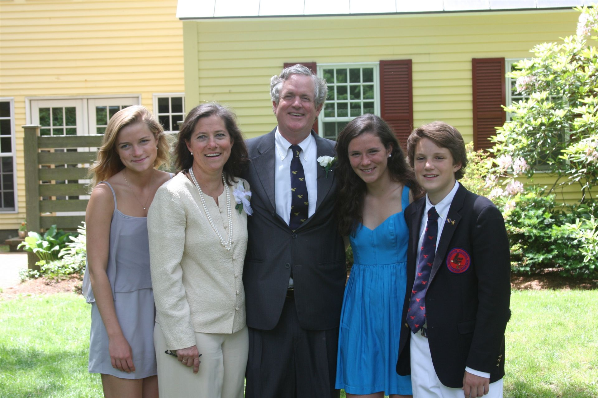 Little Hundridge is the home of Headmaster Andy Chase '73, his wife Rachel Blain, and his children, Calla '07, Lucy '09, and Sam '12.