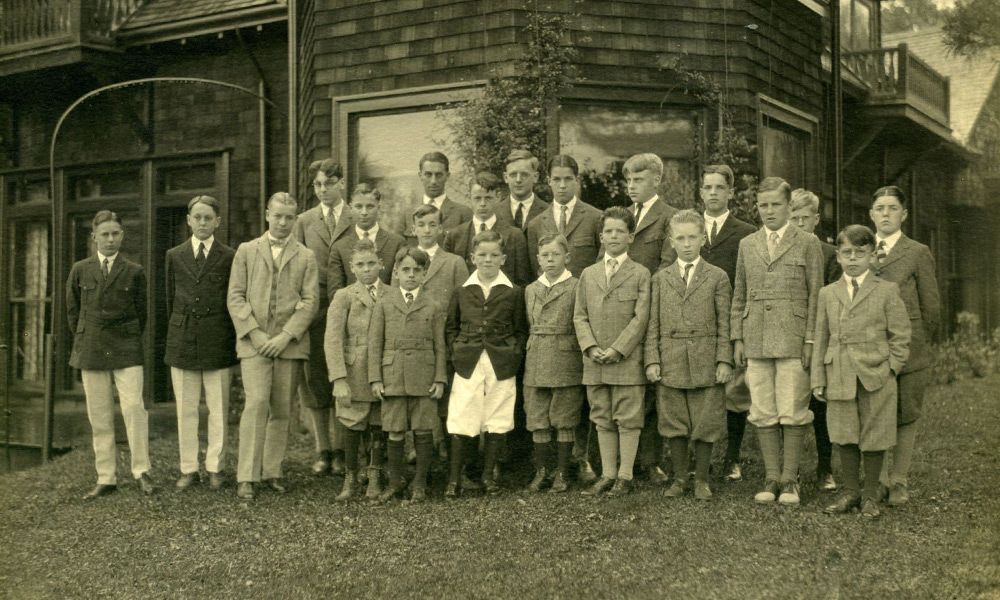 Eaglebrook began in 1922 with a total of 15 students.