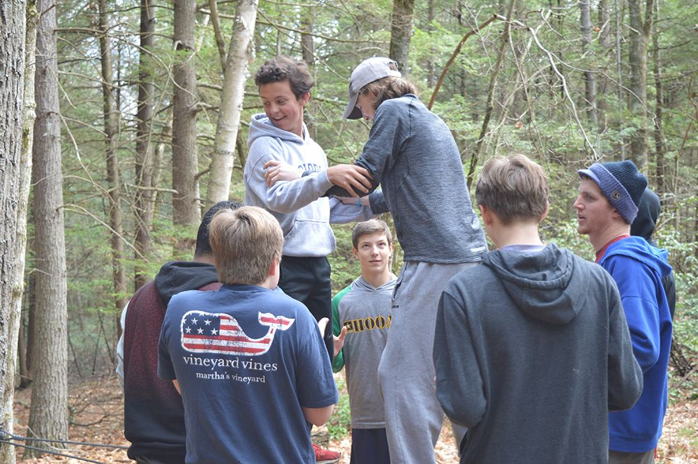 The Fifth Form spent the day at Morse Hill Outdoor Education Center on Eaglebrook's Global Day 2017