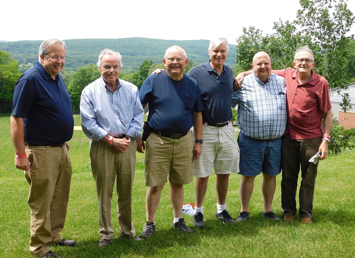 Members of the class of 1968