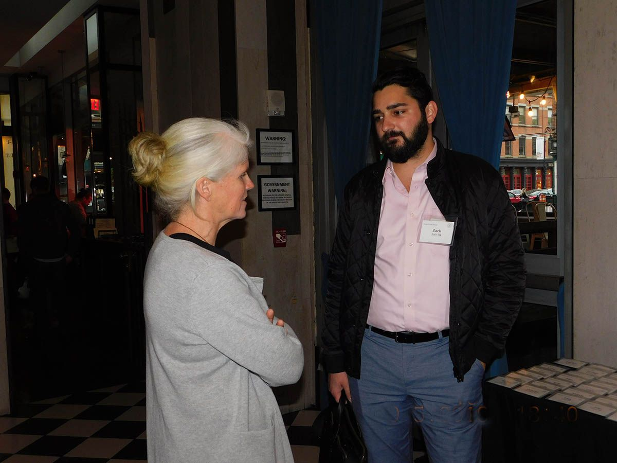 An event for New York area Alums, Parents, and Parents of Alums was held on May 9 at The Chester
