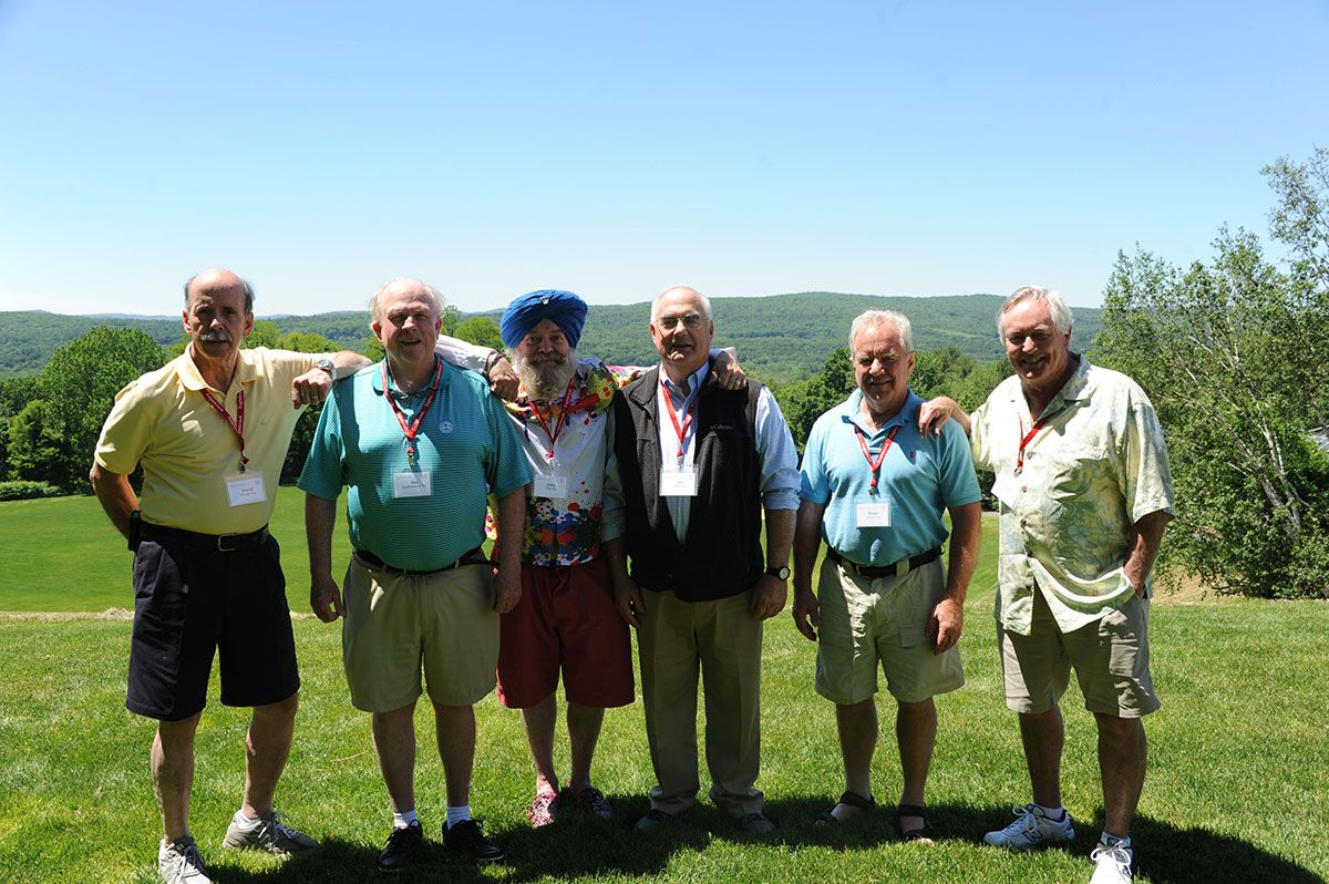 Members of the class of 1964.