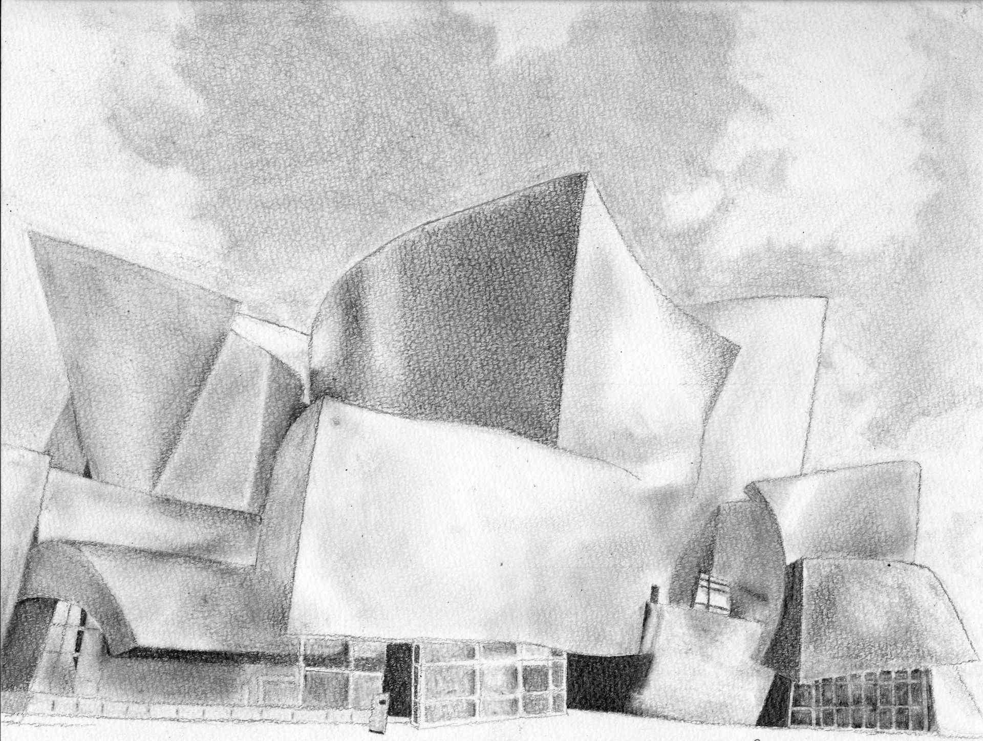Architectural Drawing by Bianca L.