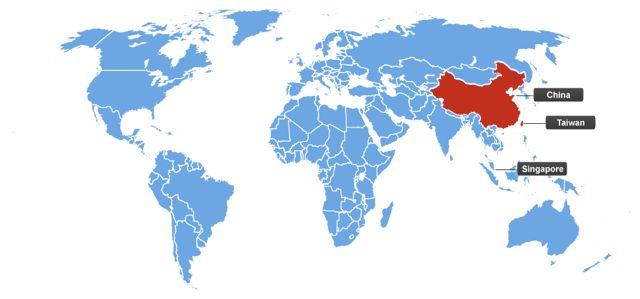 Chinese-speaking countries
