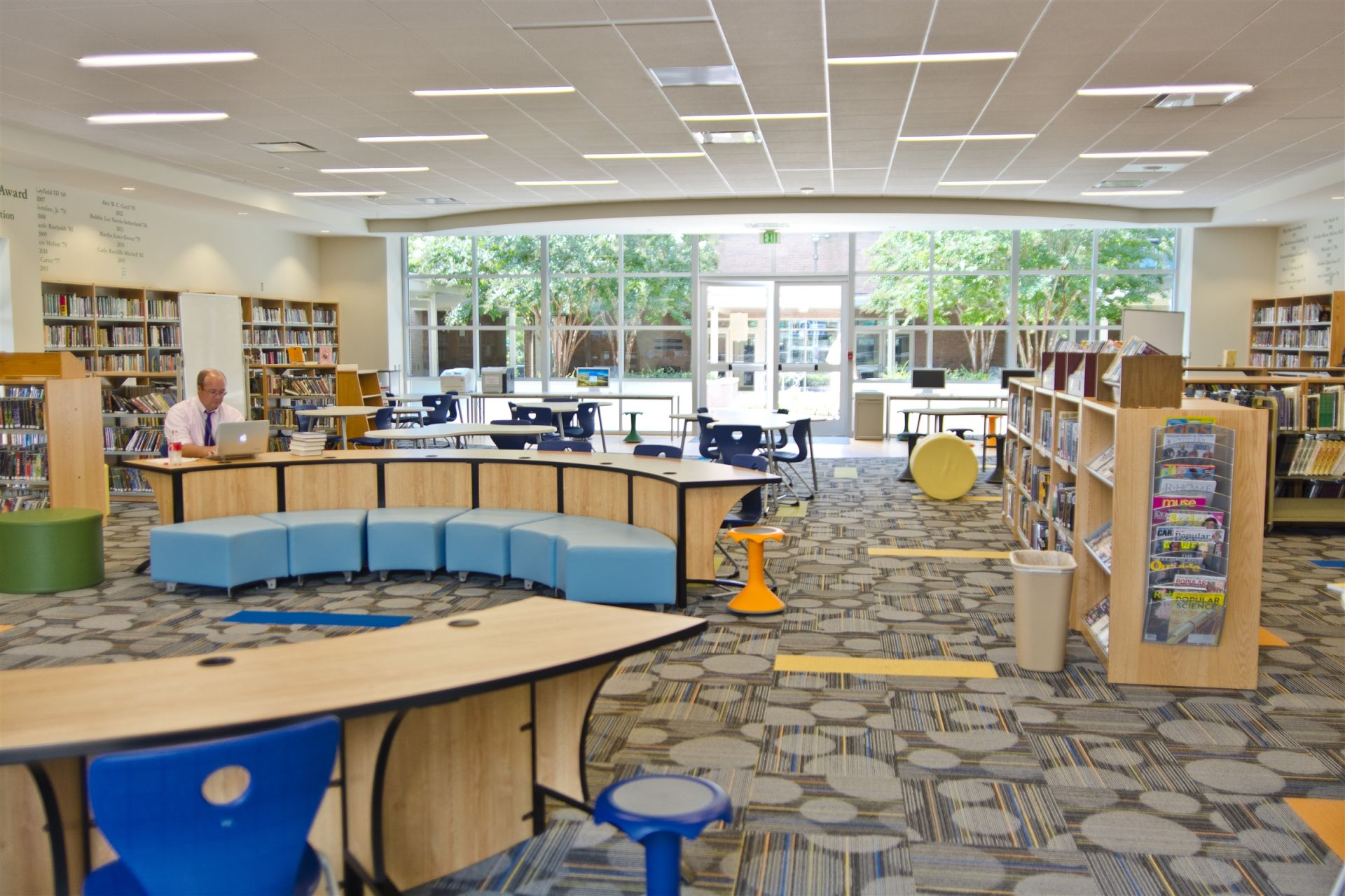 Reed-Gumenick Library -- Middle School