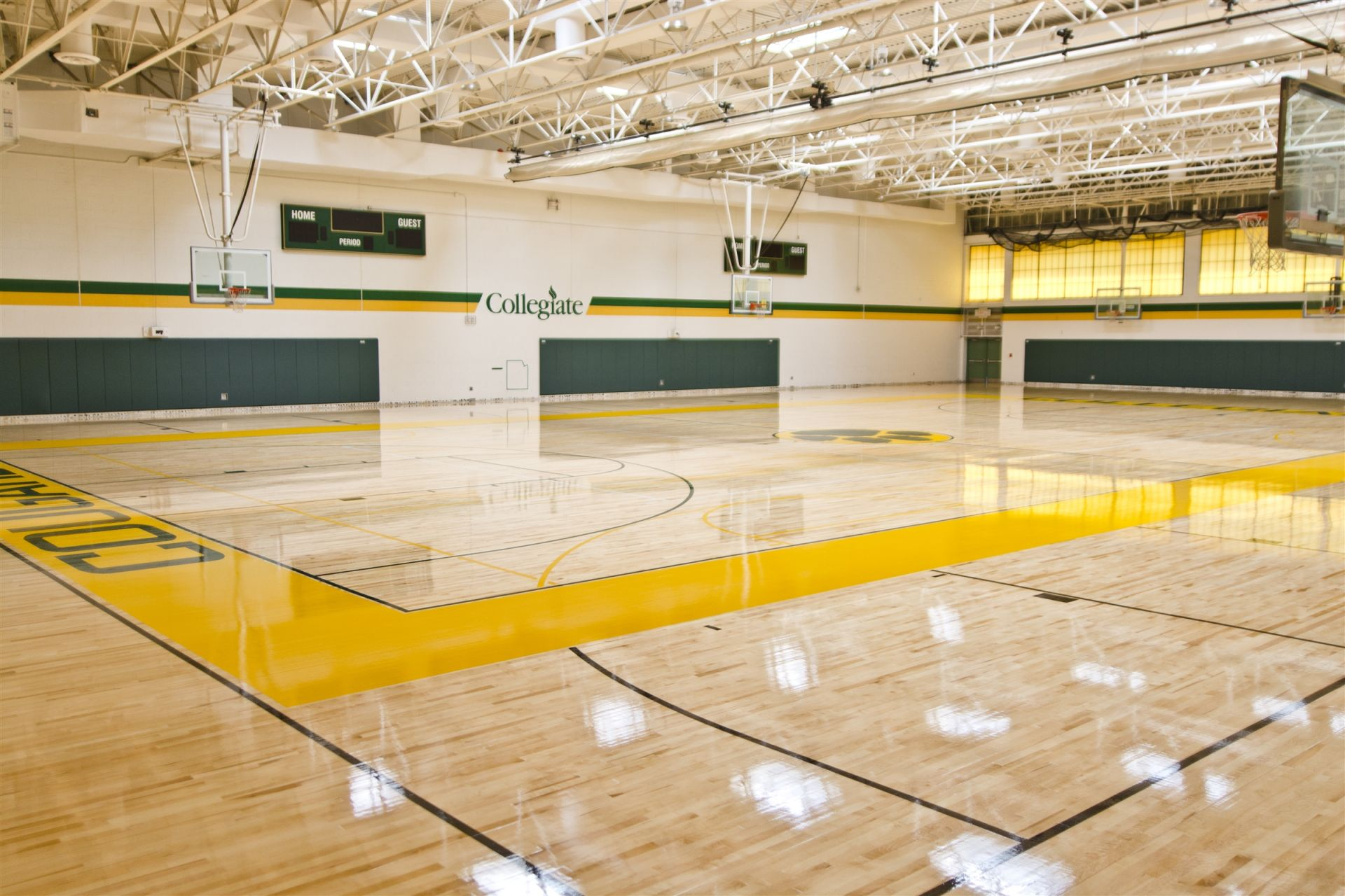 Interior of Seal Athletic Center, Mooreland Campus