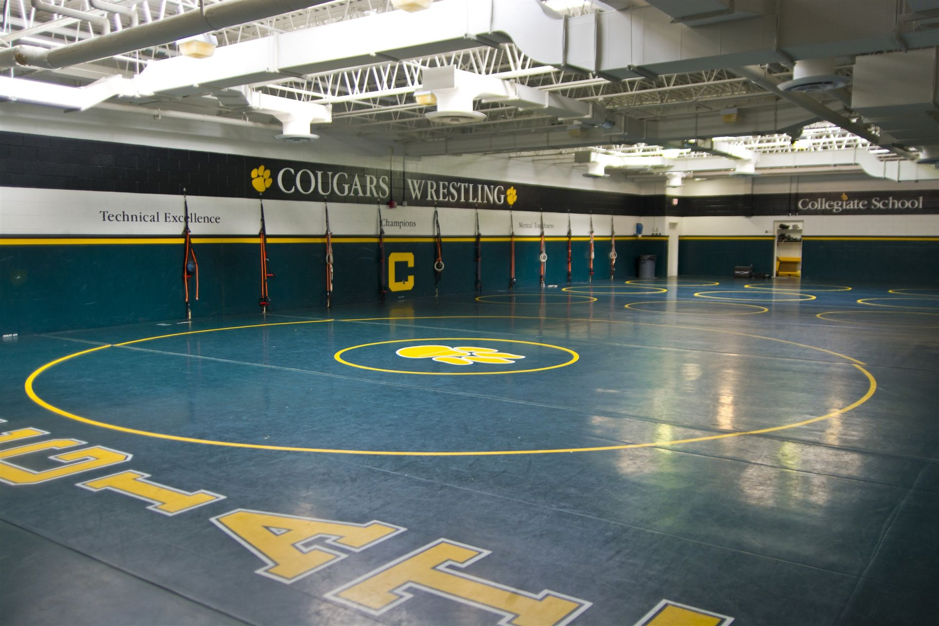 Wrestling Room, Mooreland Campus