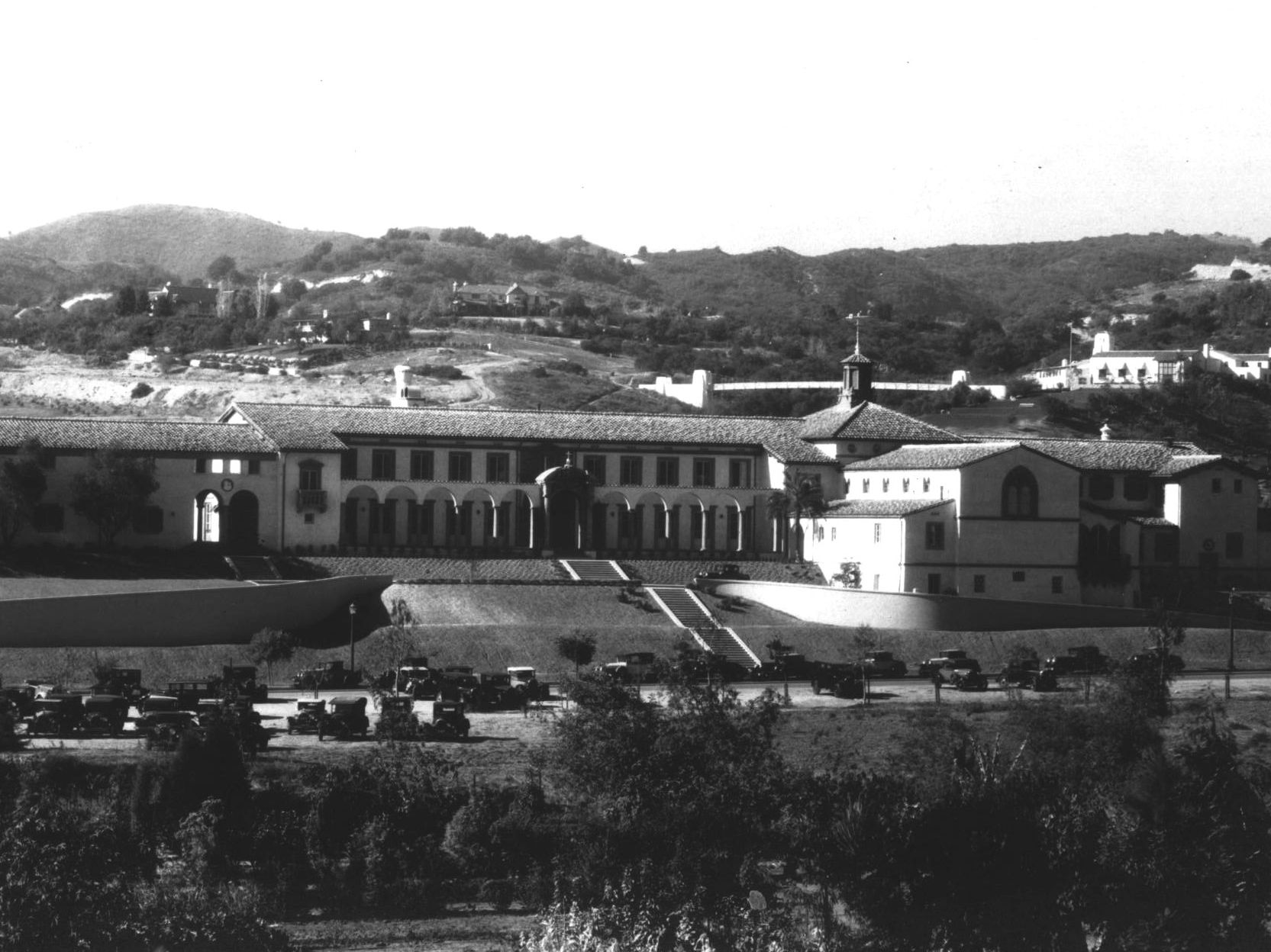 A view of Marymount, one year after our campus was built.