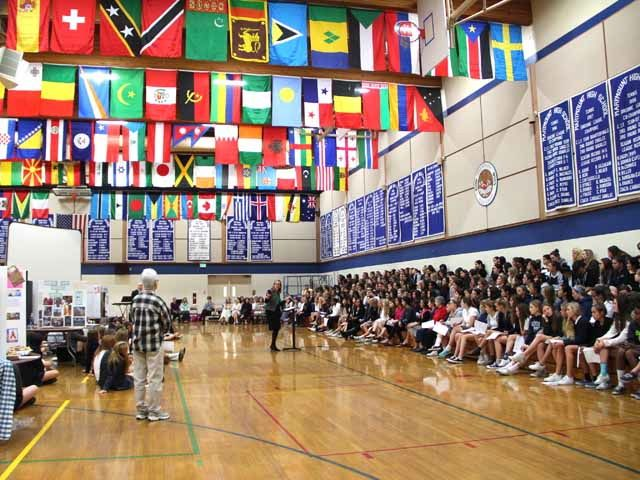 At other times, it is used for large assemblies, like Kingdom Fair and the annual Marymount Model United Nations conference.