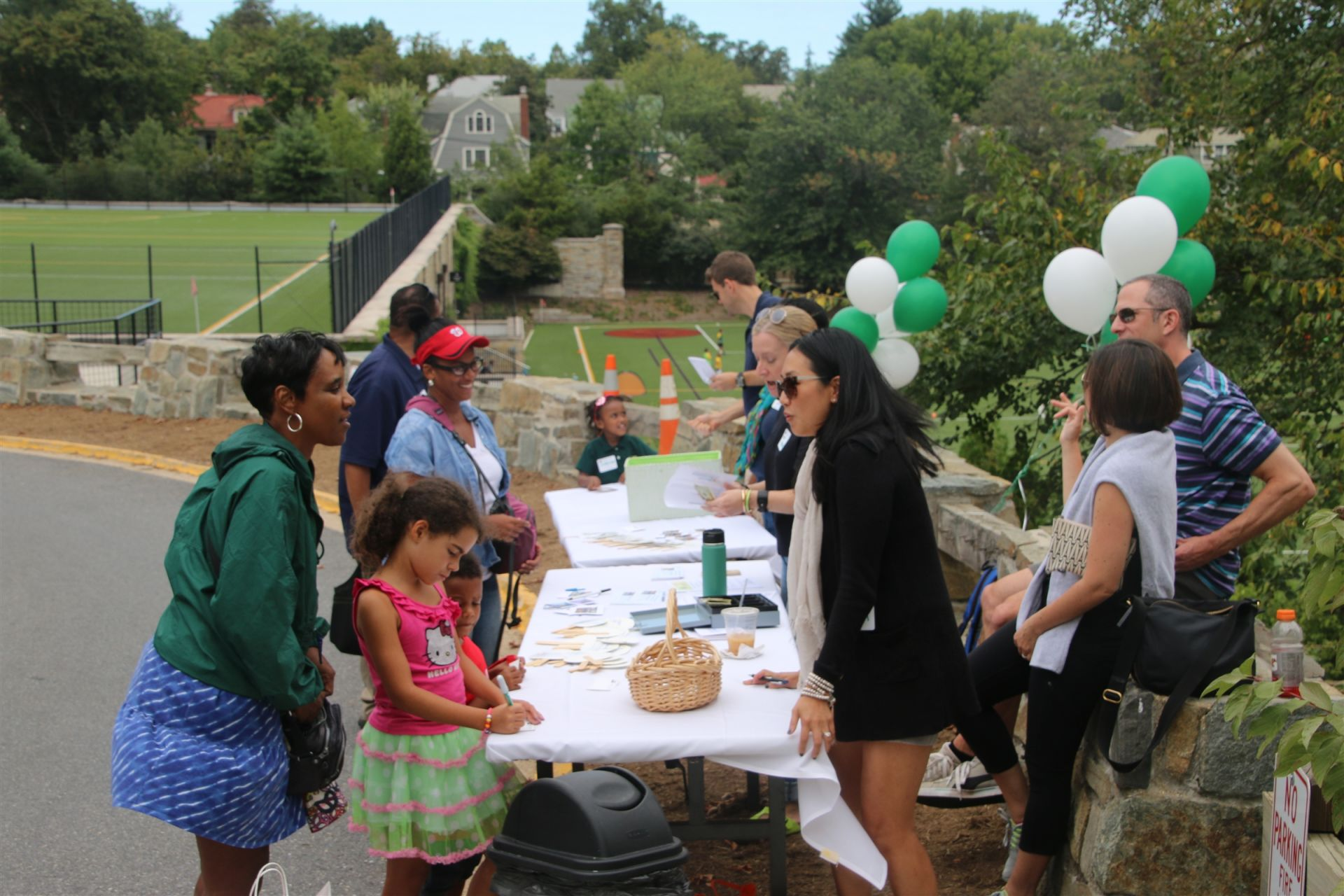 Each year, Beauvoir hosts a Walk-a-Thon to benefit a local non-profit.
