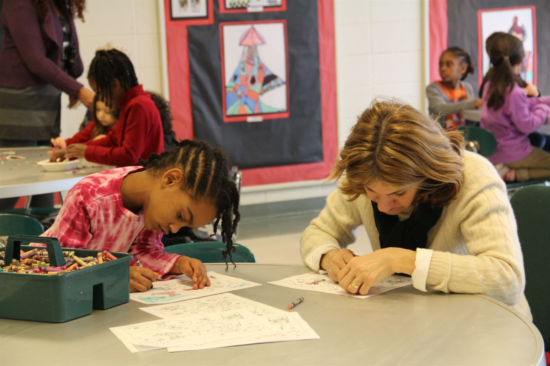 ABC instructors provide structured extended day activities for students.