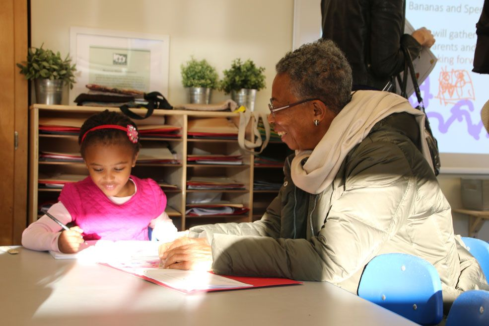Grandparents visit Beauvoir during our annual Grandparents and Special Friends Day and Thanksgiving Chapel.