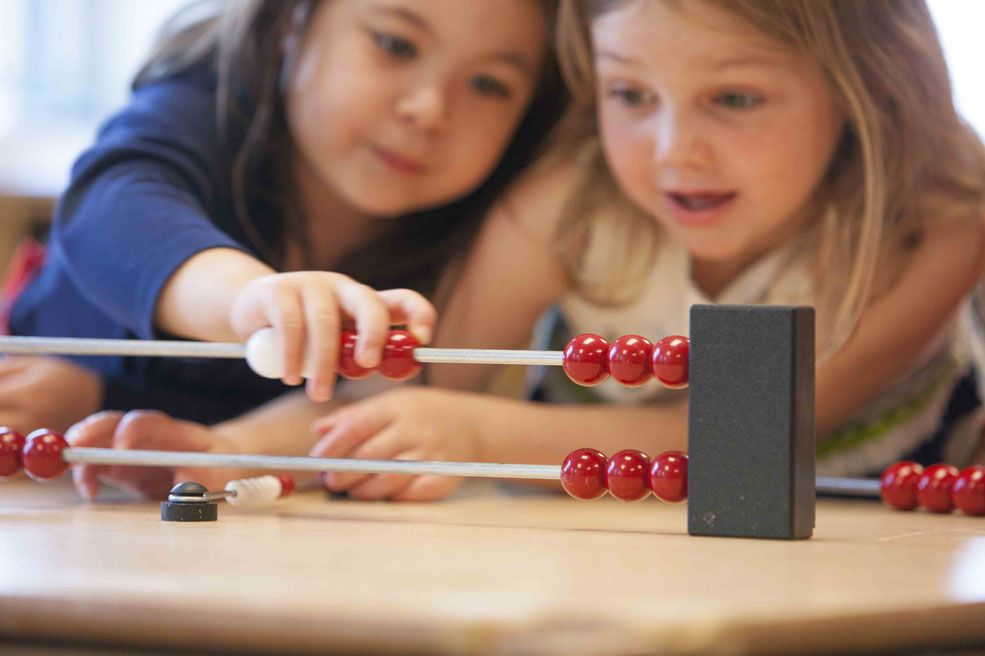 Through active exploration and the use of concrete objects, children begin forming important concepts about numbers and using mathematical ideas.