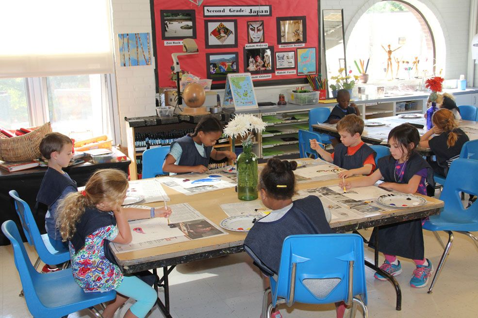 Through art, students gain powerful tools for understanding human experiences, both past and present, learn to respect different ways of thinking and working and learn to make decisions in situations where there are no standard answers.