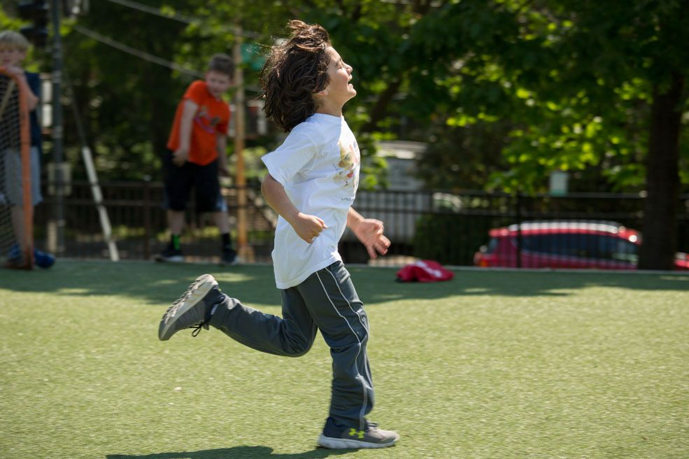 Track and field, flag football, hockey and other sports increase children's manipulative and cooperation skills.