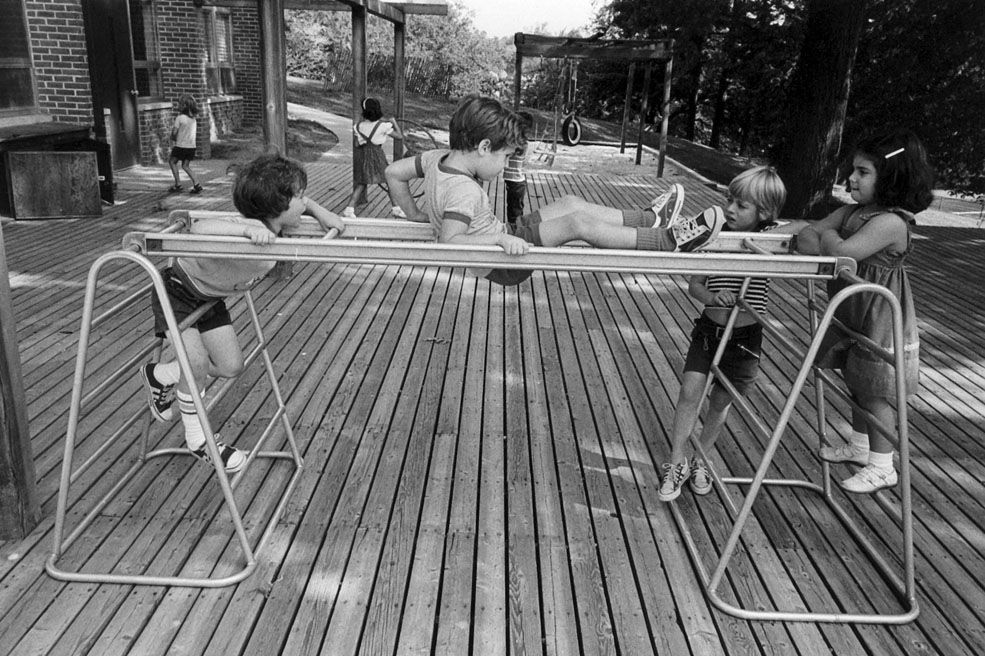 Play deck gymnastic