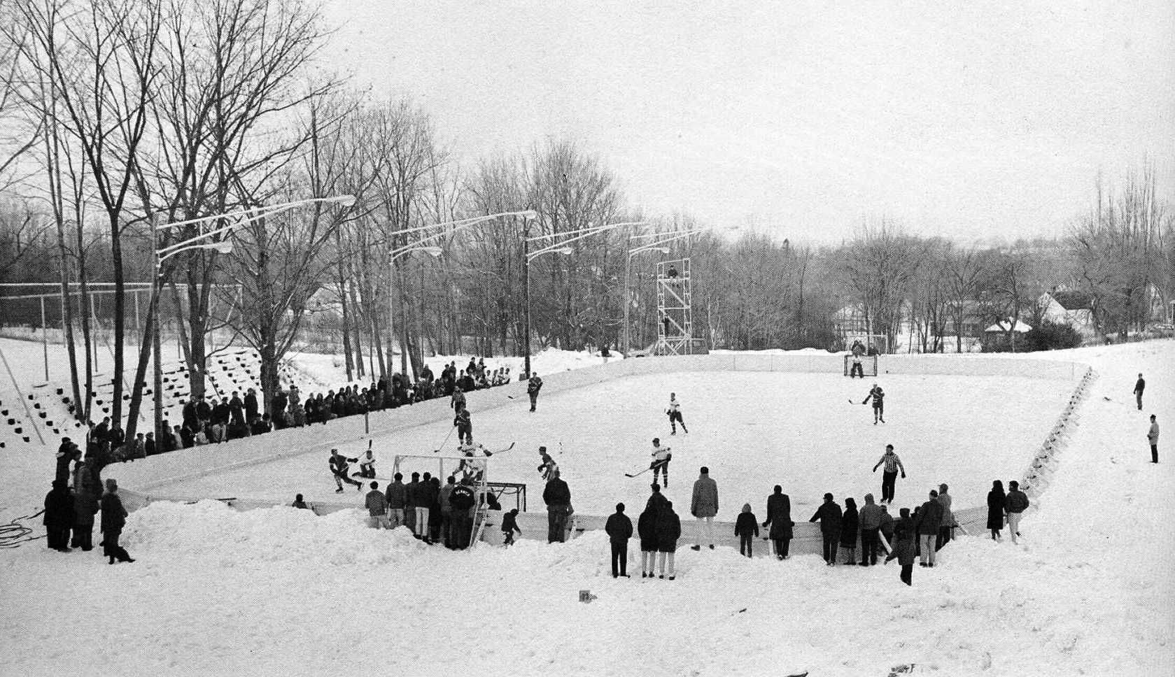 1963 Boys Hockey game