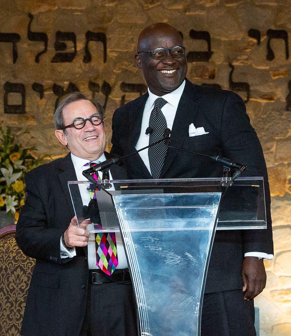 Rabbi Wohlberg and Reverend Terris King
