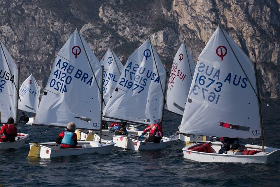 Taken by Bo Angus, '25,:  1,400 Young sailors form 33 nations gathered in Riva Del Garda, Italy to compete and build friendships in the worlds largest regatta. Bo's team was made up of competitors from over 10 countries. Shown in BAngus1 picture are fellow racers from the United States, Australia, United Kingdom, and Dubai.