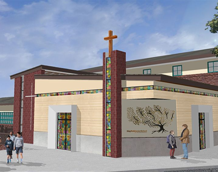 2018: Holy Child Chapel Renovation and Expansion begins