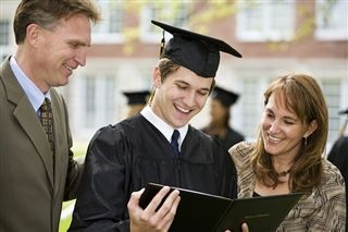 Parents With Student
