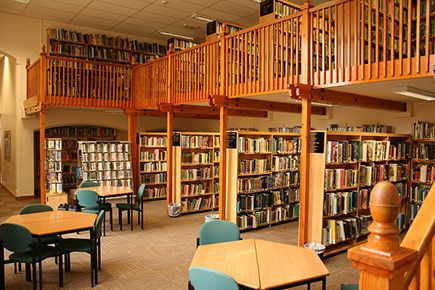 Our state-of-the-art library