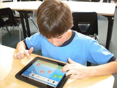 iPads are available in all classrooms.
