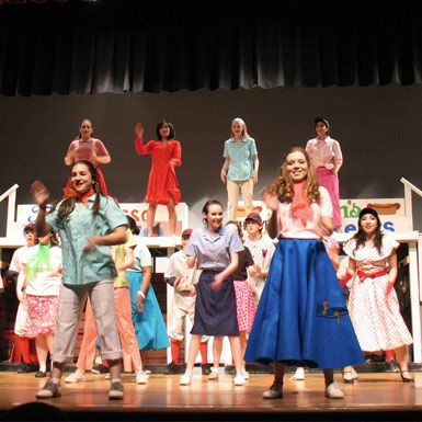 Student directed winter musical