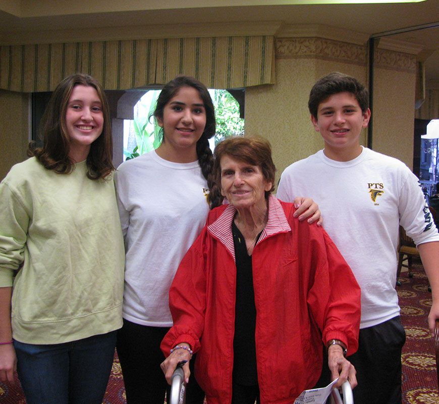 PTS Students Volunteer at The Palace Nursing Home
