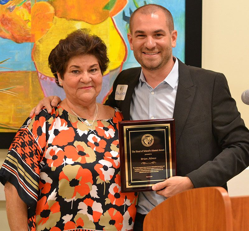 Head of School's Alumni Award – Brian Alonso '97