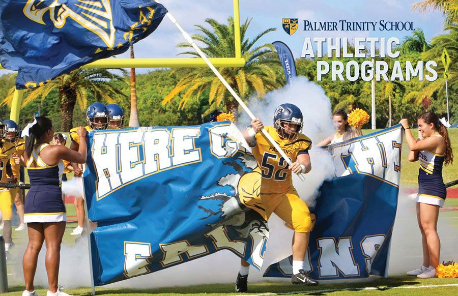 Image of the cover pf the Palmer Trinity School Athletic Programs booklet