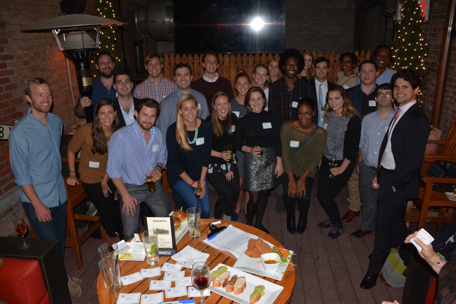 Young Alumni Gather in New York City
