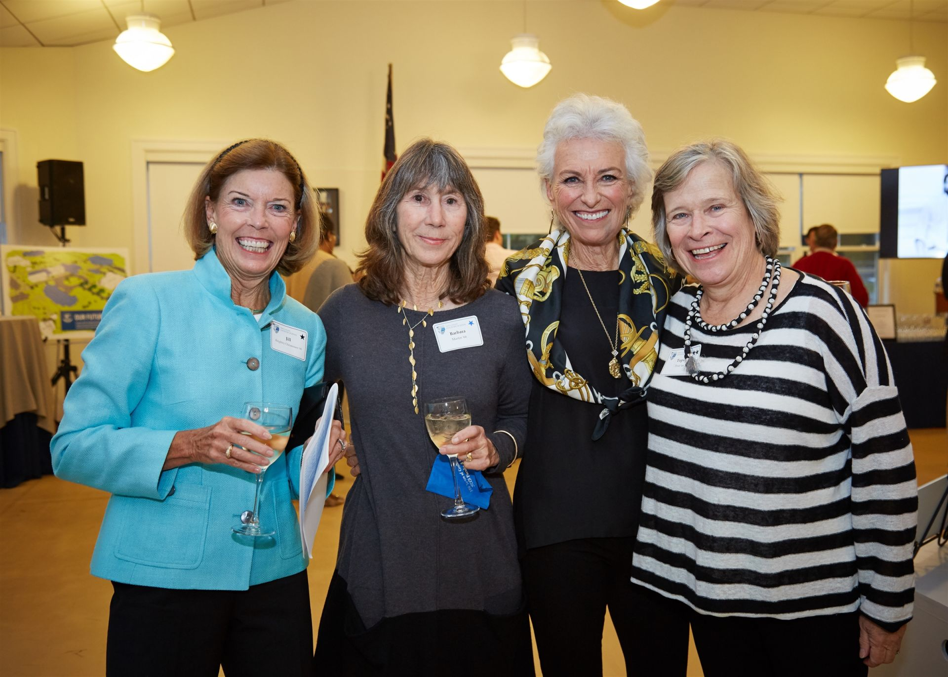 Centennial Celebration Weekend: Jill Reighley Christensen '66, Barbara Martin '66, Andrea Marschalk Scheyhing '66, Topsy Post '66