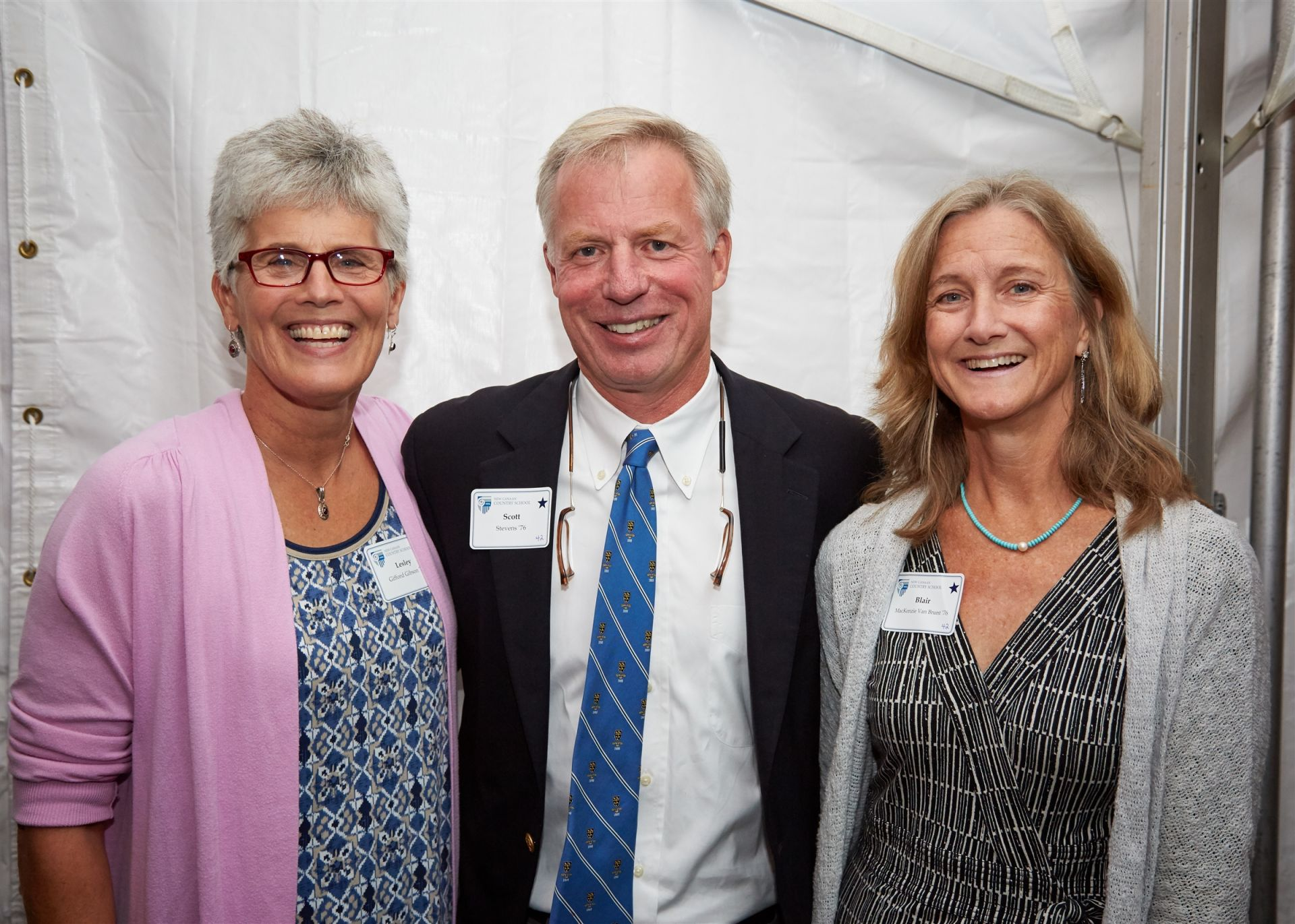 Centennial Celebration Weekend: Lesley Gifford Gibson '76, Scott Stevens '76, Blair MacKenzie Van Brunt '76