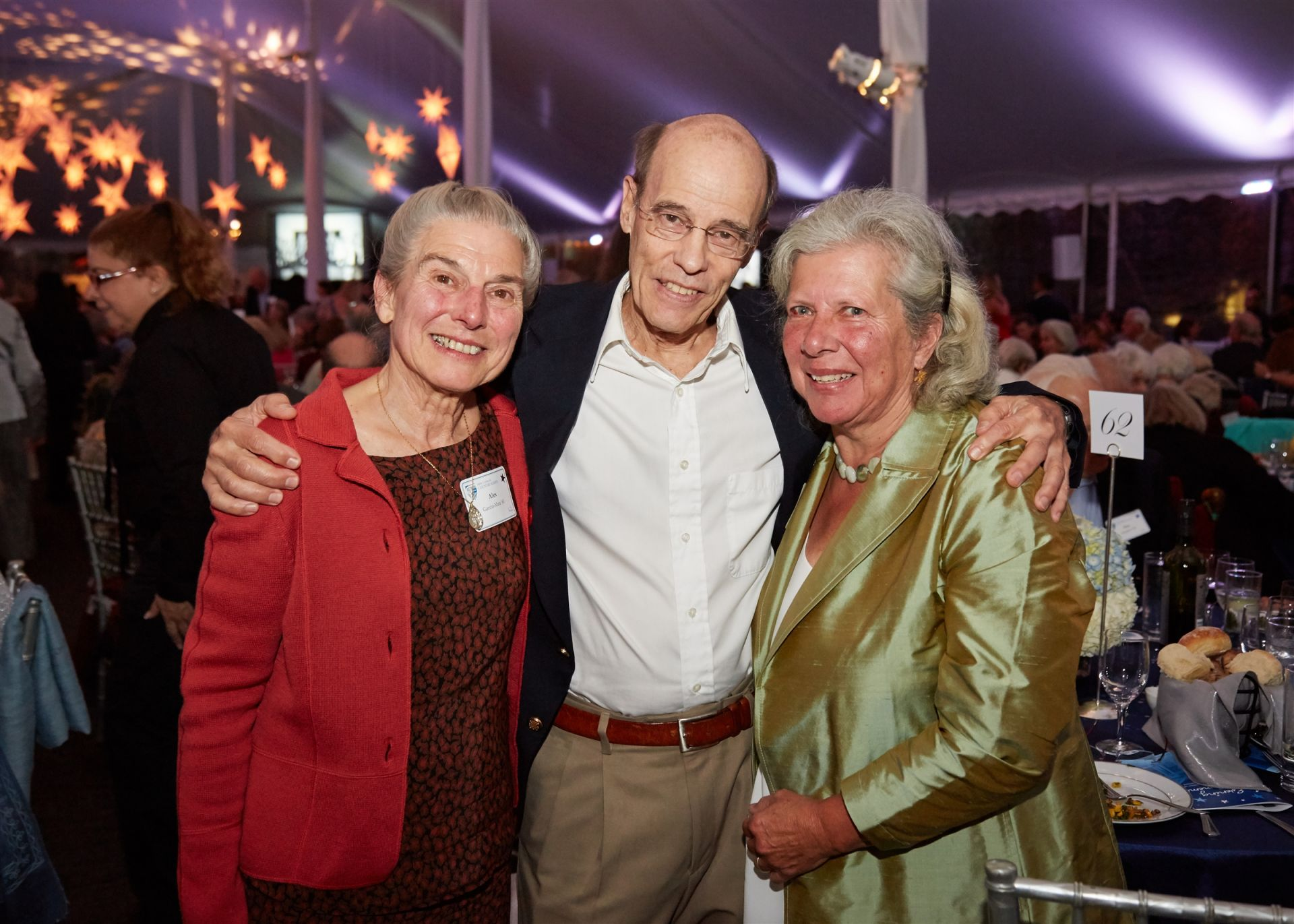 Centennial Celebration Weekend: Alex Garcia-Mata '61, David Gens '61, Sue II Knowles '61