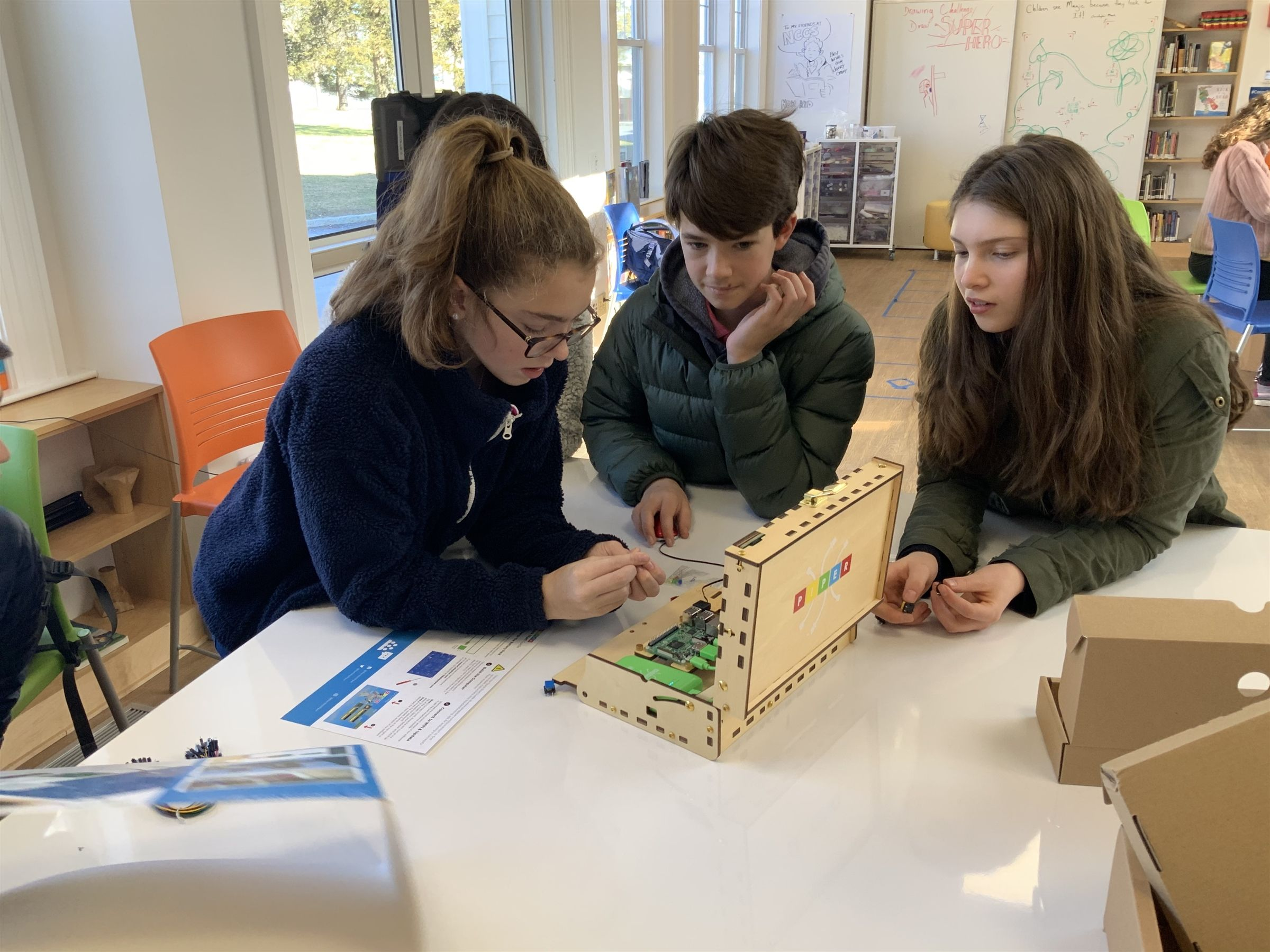 Creativity, collaboration and risk-taking are at the heart of our program. Students are taught to build, test and rebuild. It's about precision and flexibility, design and function, and breaking down complex challenges into solvable parts.