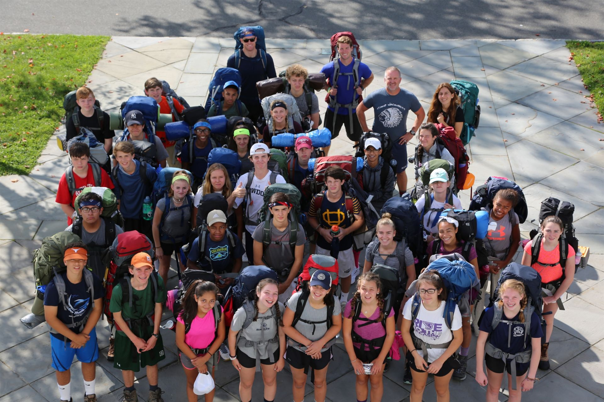 The ninth grade year begins with a 3-day hike of the Appalachian Trail. With its focus on class bonding and leadership, the <b>Outdoor Action Trip </b> is a longstanding, celebrated, and essential component of the 9th grade experience at Country School.