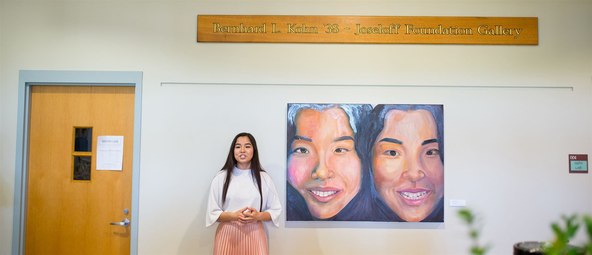 The Kohn-Joseloff Gallery was founded in 1998 through gifts from the Kohn-Joseloff Foundation. The gallery features exhibits from current students and alumni of Cheshire Academy, along with exhibits from celebrated artists in the New Haven and Hartford area.  <br><br> The Kohn-Joseloff Gallery is a place of continual learning for Cheshire Academy artists, as they attend lectures by area artists in the gallery, examine theoretical perspectives of current exhibits, and practice discussing their own influences during student and faculty art shows.
