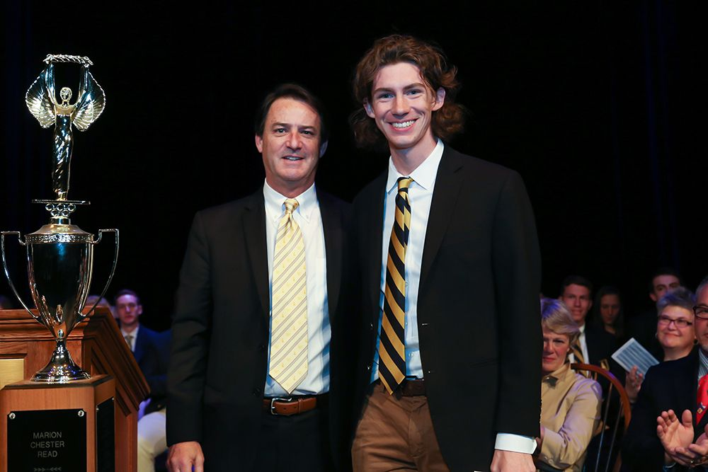 Sam Wells '16, Alumni Key Award