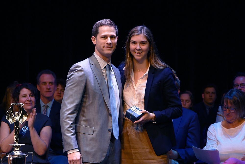 Michaela Fritz '19, Alumni Key Award