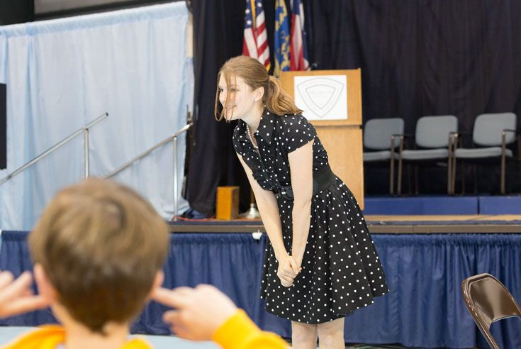 All students receive 5-10 public speaking opportunities per year.
